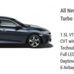 Honda Civic 1.5L Turbo ES